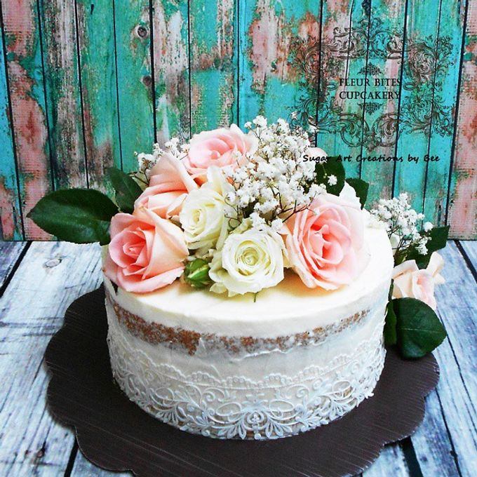 Engagements & Wedding Cakes by Fleur Bites Cupcakery - 006