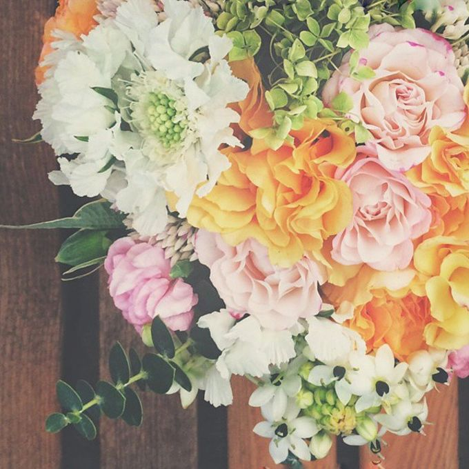 WHIMSICAL WEDDING BOUQUET by LUX floral design - 003