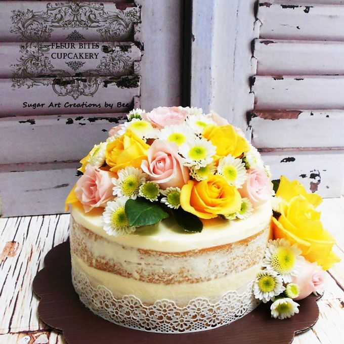 Engagements & Wedding Cakes by Fleur Bites Cupcakery - 005