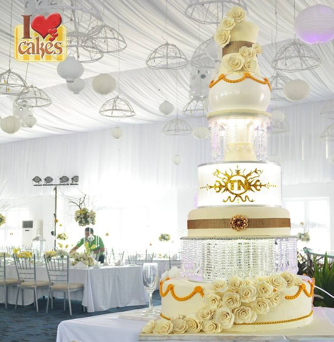 Wedding Cakes by I Love Cakes - 017