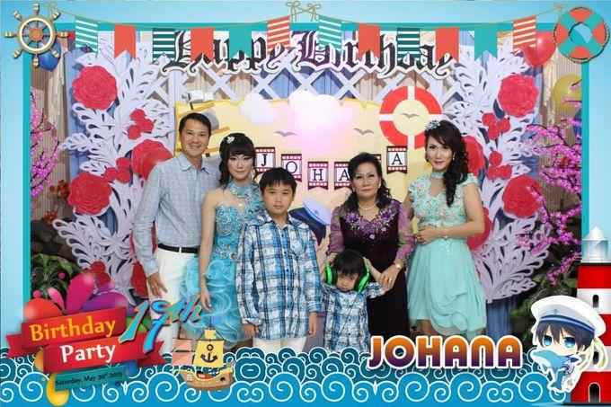Sweetseventeen Johana Birthday Photobooth by Dinasty Photobooth - 002