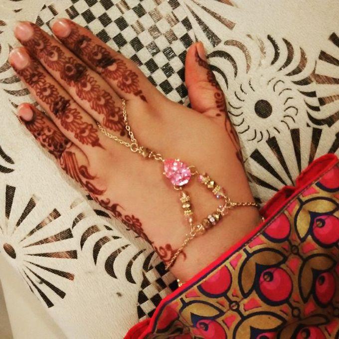 Bridal Henna - Arabic by Nakreze Mehndi - 020