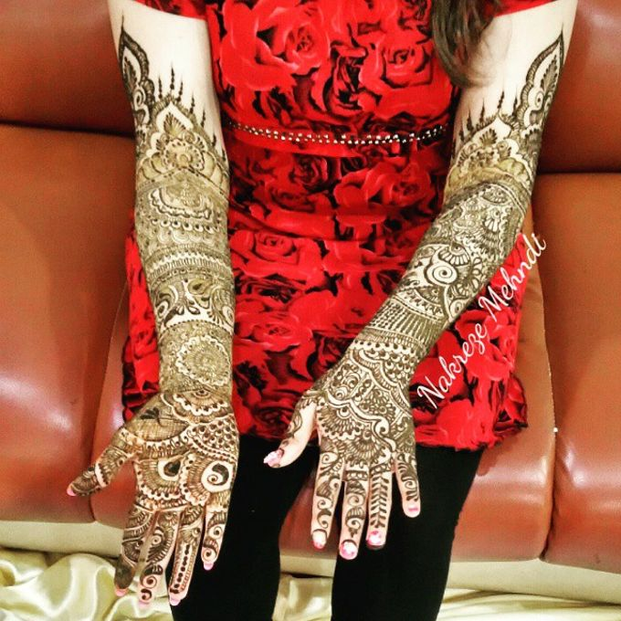 Bridal Henna - Intricate by Nakreze Mehndi - 046