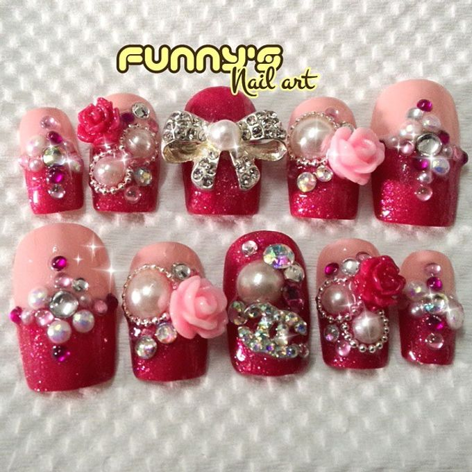 Thanks May 2015 by Funny's Nail art - 025