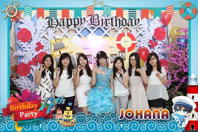 Sweetseventeen Johana Birthday Photobooth by Dinasty Photobooth - 007