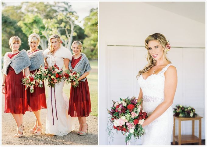 A glamorous garden wedding ticks all the right boxes for opulence and romance by Ginger Lily & Rose Floral Studio - 002
