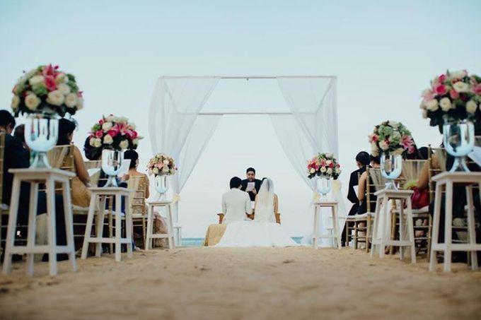 Elegant Flowery Wedding by Jonquilla Decor - 005