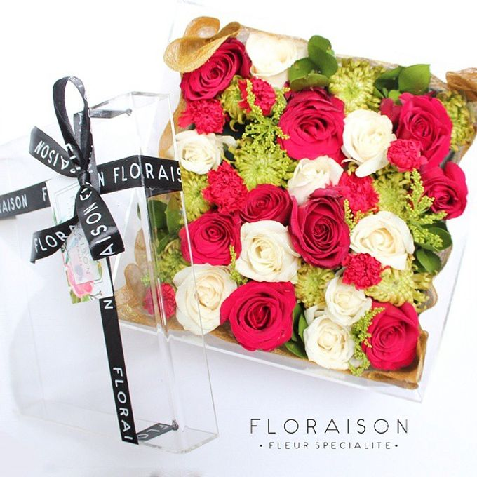 """See me Thru"" Bloom box by Floraison - 010"