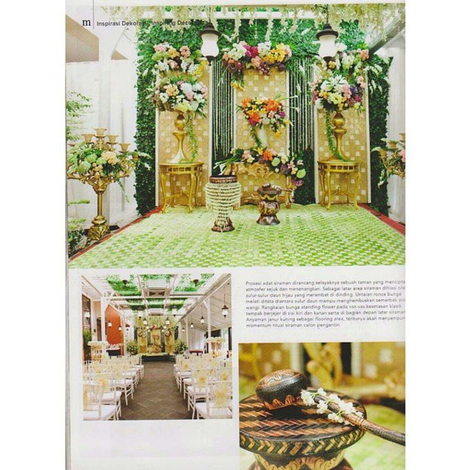 Tema Palembang by Watie Iskandar Wedding Decoration & Organizer - 002