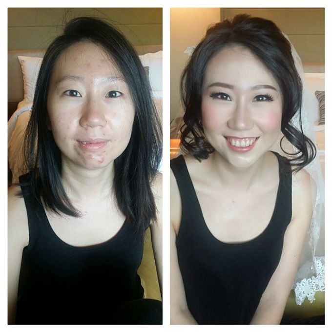 Before and After by Elly Liana Makeup Artist - 004