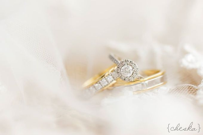Wedding Rings by Peach Frost Studio - 005