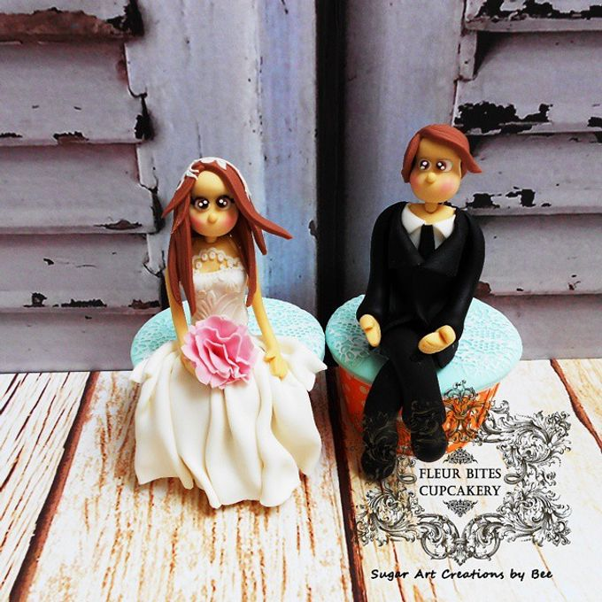 Engagements & Wedding Cakes by Fleur Bites Cupcakery - 003
