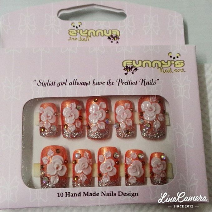 Thanks May 2015 by Funny's Nail art - 021