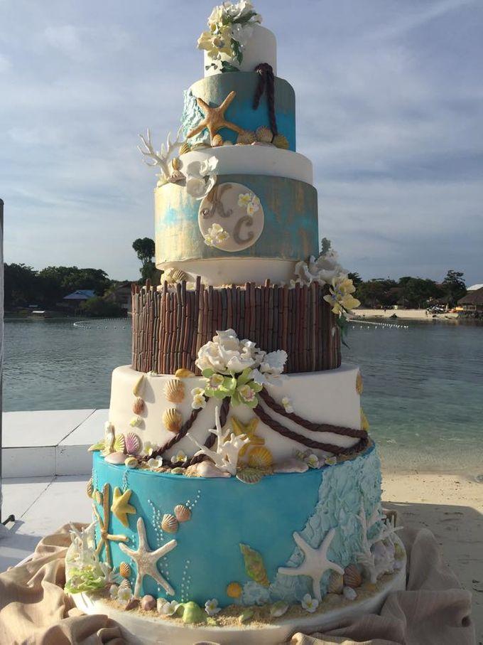 Wedding Cakes by Cupkeyk N Art - 013