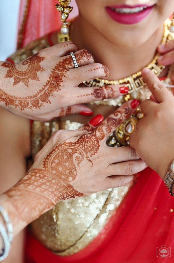 Bhavish and Yira Wedding by Henna Tattoos and More - 001
