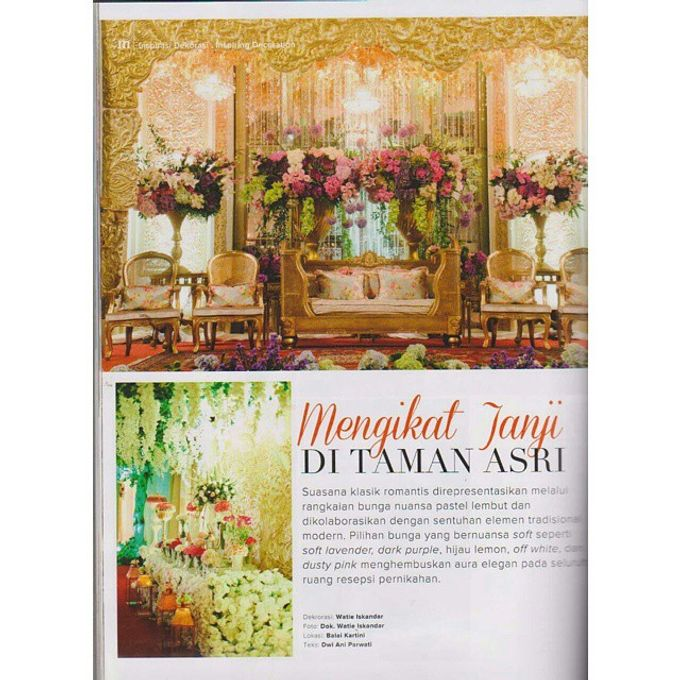 Tema Palembang by Watie Iskandar Wedding Decoration & Organizer - 004