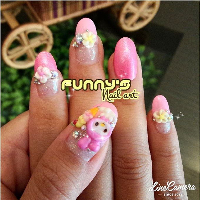 Thanks May 2015 by Funny's Nail art - 020