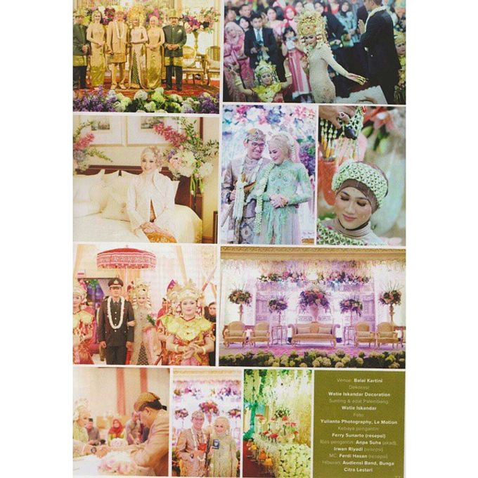 Tema Palembang by Watie Iskandar Wedding Decoration & Organizer - 005