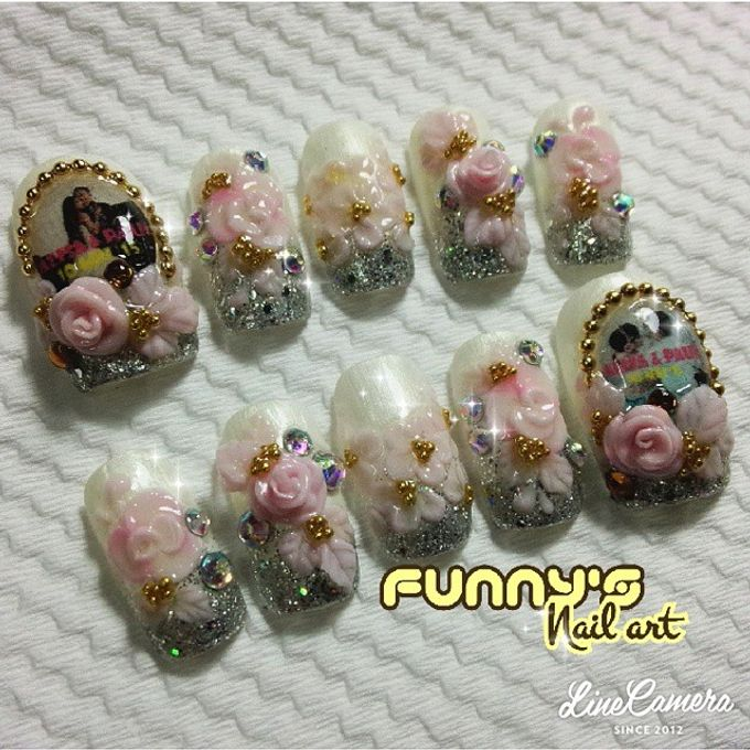 Thanks May 2015 by Funny's Nail art - 017
