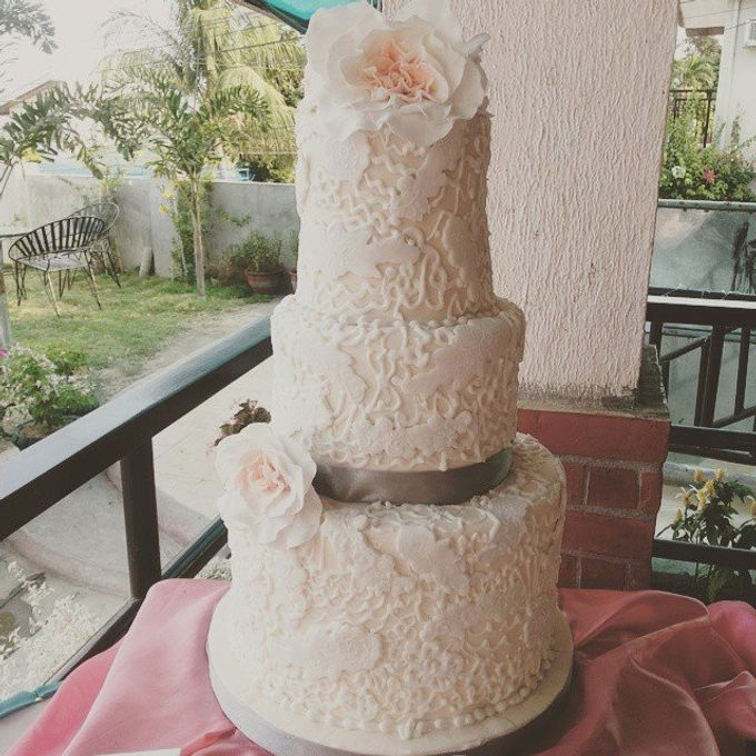 Wedding Cakes by The Cupcake Theory - 012