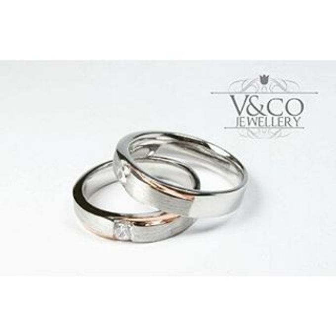 wedding ring simple Design by V&Co Jewellery - 021