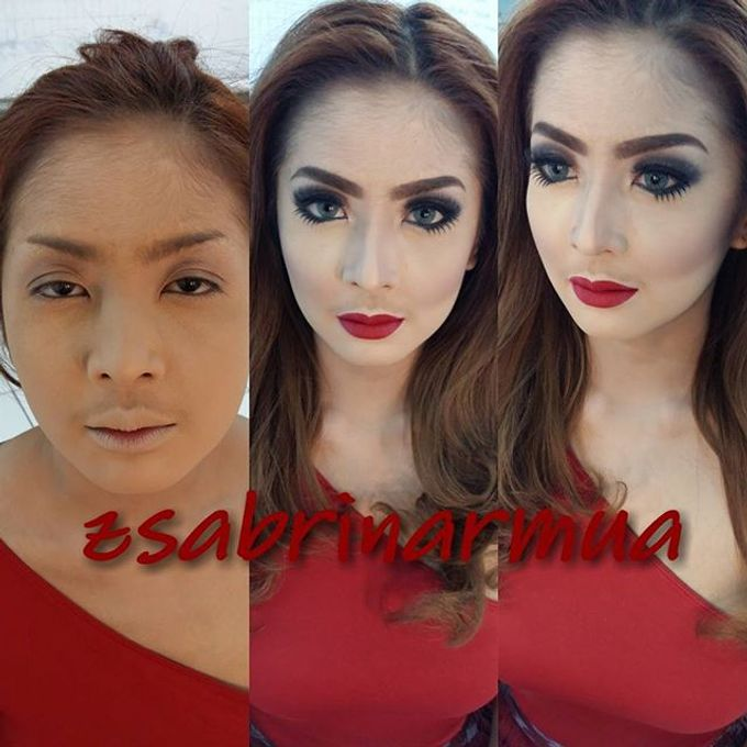 Before after by zsabrinar Makeupartis - 029