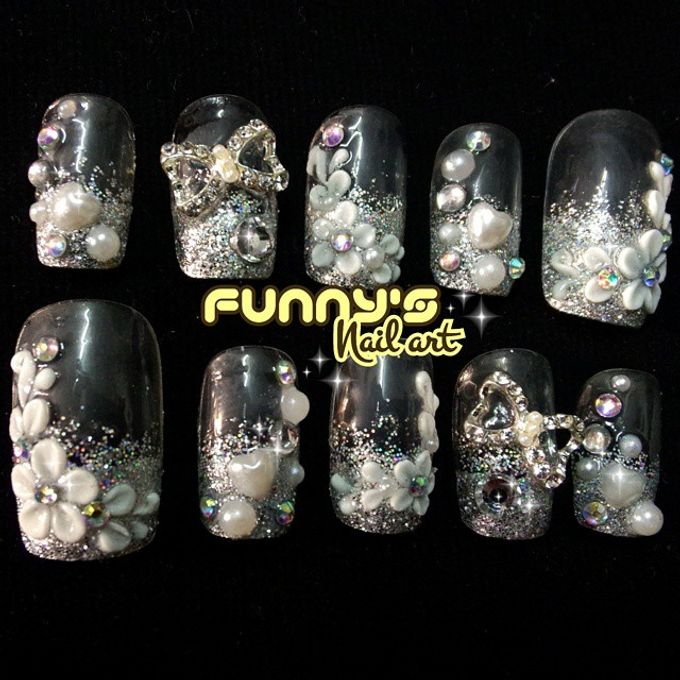 AUGUST by Funny's Nail art - 003