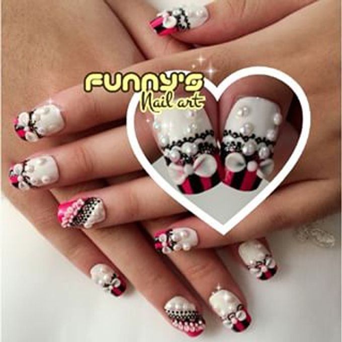 AUGUST by Funny's Nail art - 007