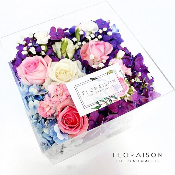 """See me Thru"" Bloom box by Floraison - 005"