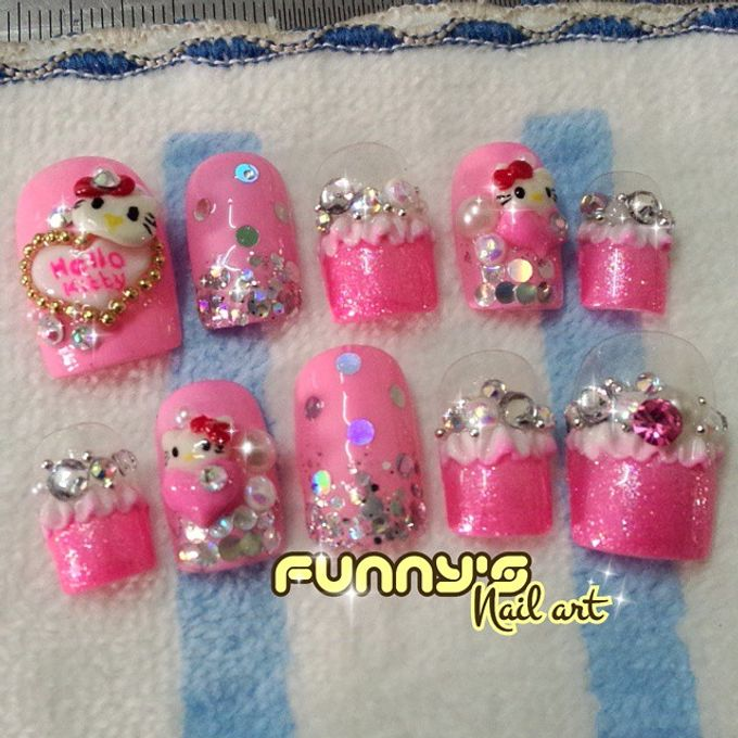 Thanks May 2015 by Funny's Nail art - 018