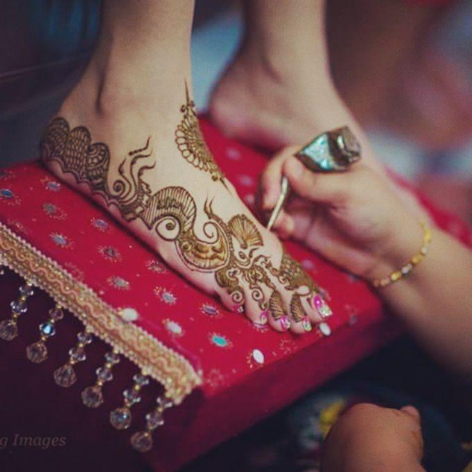 Bridal Henna - Arabic by Nakreze Mehndi - 025