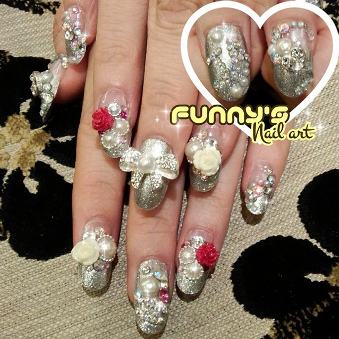 Thanks May 2015 by Funny's Nail art - 004