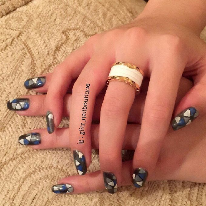 Nail Art Design by Brows To Toes - 010
