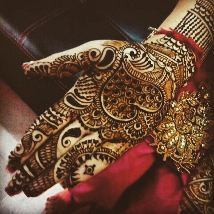Bridal Henna - Arabic by Nakreze Mehndi - 024