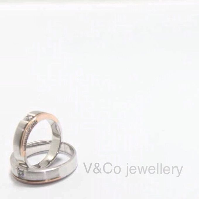 wedding ring simple Design by V&Co Jewellery - 024
