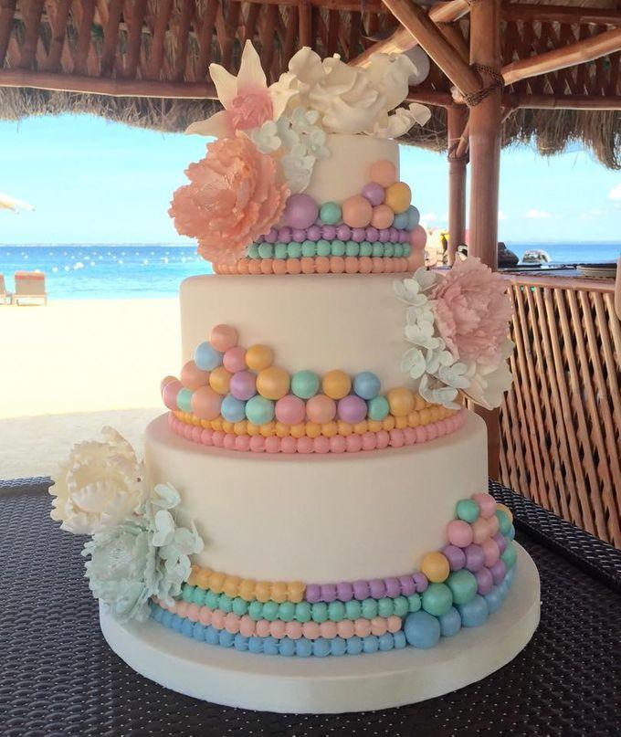 Wedding Cakes by Cupkeyk N Art - 014