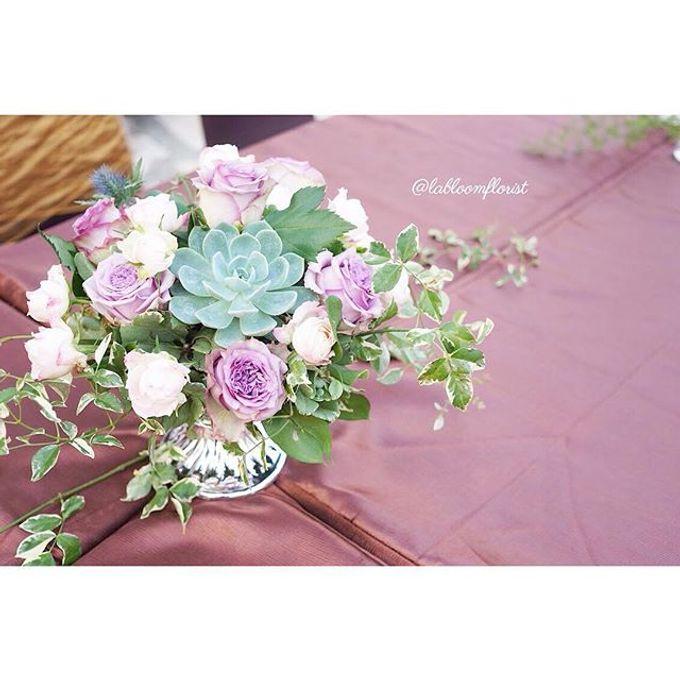 Rustic Wedding by La Bloom Florist - 018