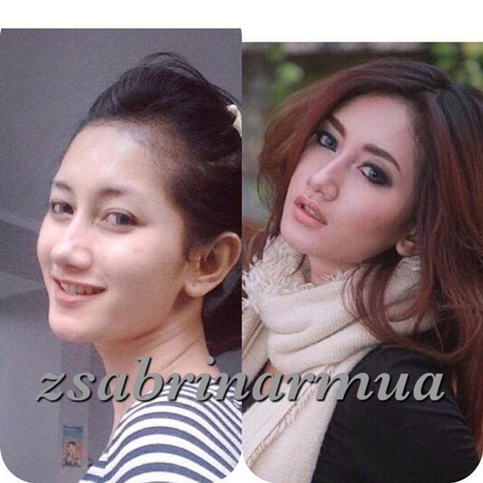 Before after by zsabrinar Makeupartis - 004