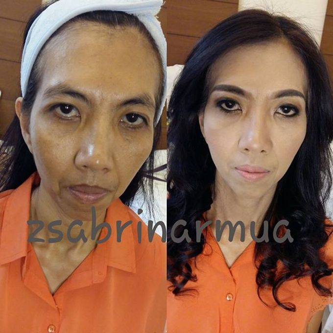 Before after by zsabrinar Makeupartis - 034