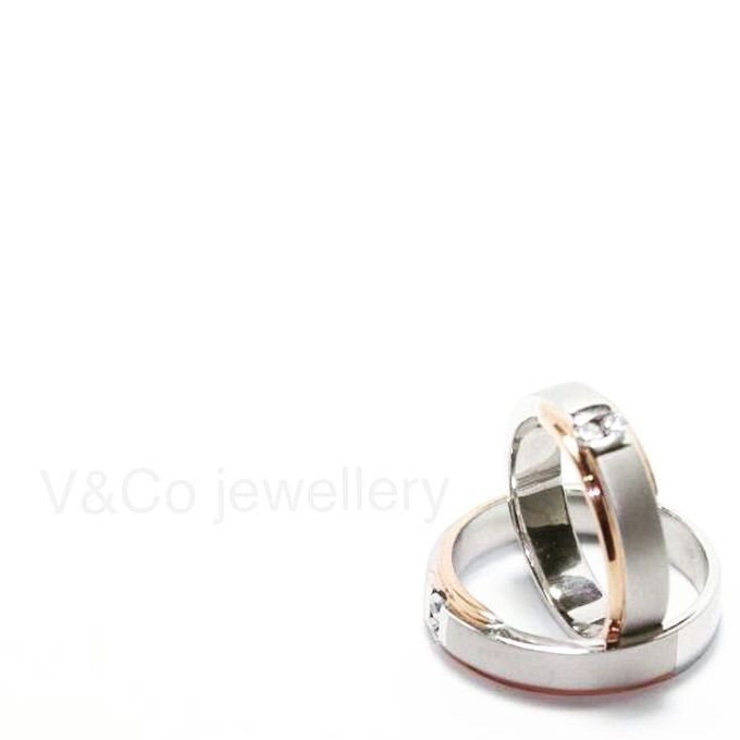 wedding ring simple Design by V&Co Jewellery - 026