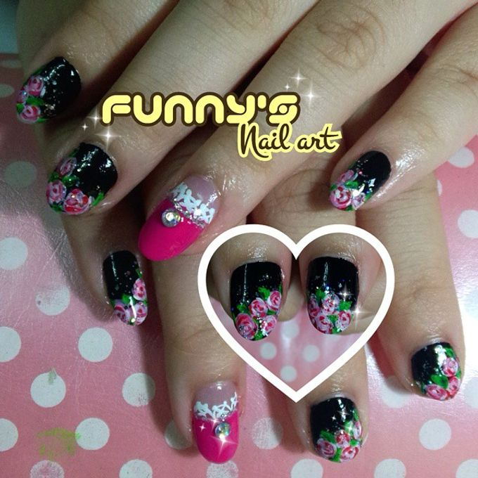 Thanks May 2015 by Funny's Nail art - 005