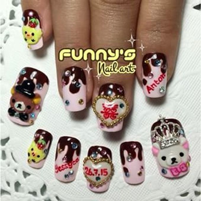 AUGUST by Funny's Nail art - 008