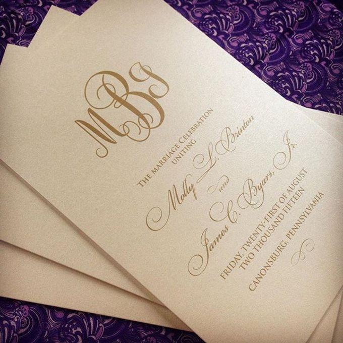 Wedding stationery portfolio  by Hello Beautiful Designs - 017