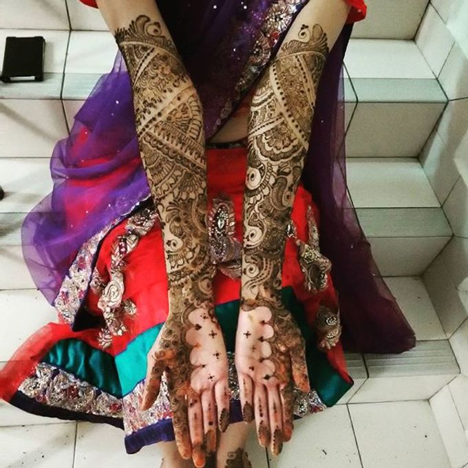 Bridal Henna - Arabic by Nakreze Mehndi - 014