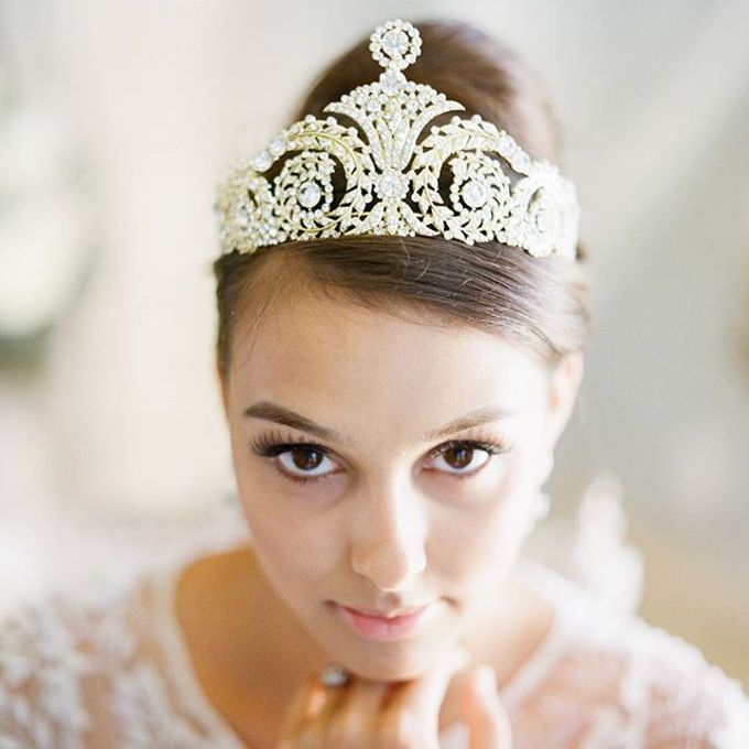 Regal Bridal Crowns and Tiaras and Headpieces by Eden Luxe Bridal - 008