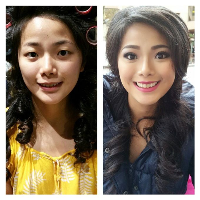 Before and After by Elly Liana Makeup Artist - 003
