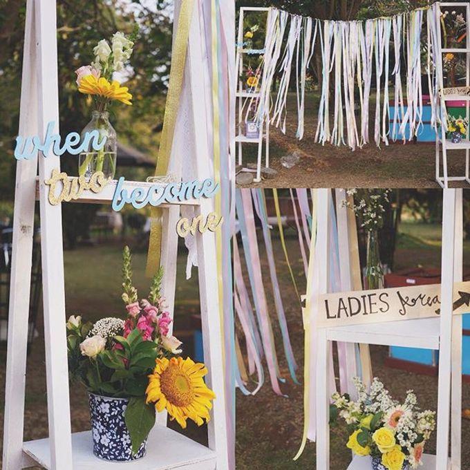 Rustic Wedding by La Bloom Florist - 016