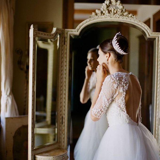 Regal Bridal Crowns and Tiaras and Headpieces by Eden Luxe Bridal - 018