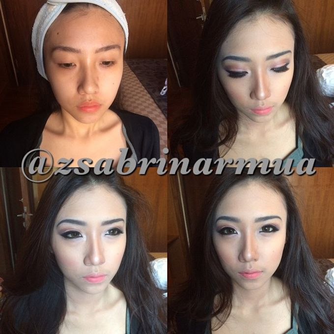 Before after by zsabrinar Makeupartis - 003