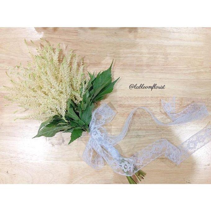 Pinterest inspired bridal bouquet by La Bloom Florist - 017